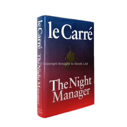 The Night Manager Signed John le Carré First Edition Hodder & Stoughton 1993